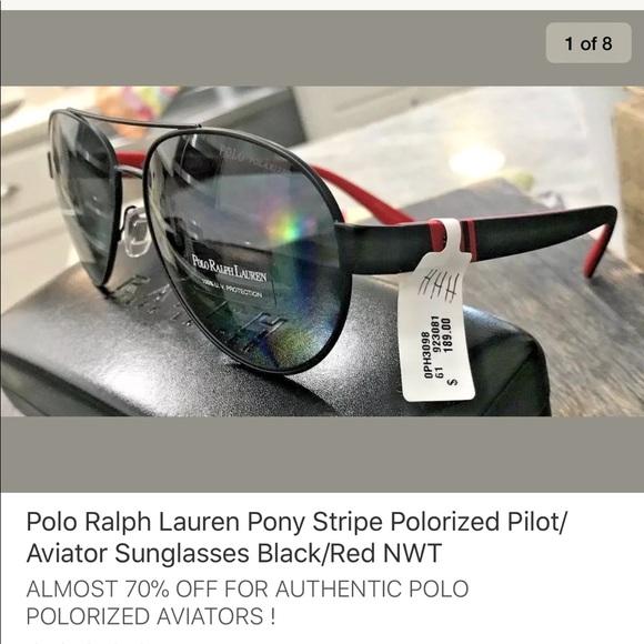 5257297308a4 Polo by Ralph Lauren Accessories | Polo Ralph Lauren Aviators ...